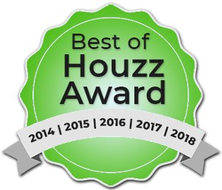 Best of Houzz Award 2014, 2015, 2016, 2017 and 2018